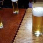 和食家一伸 - ドリンク写真:まずは生BEERで乾杯 (1/13)