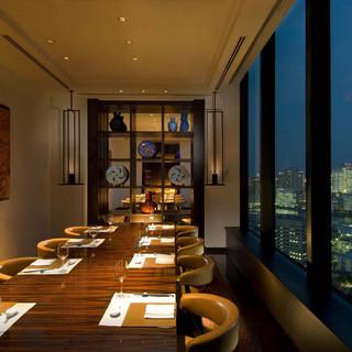東京ベイエリアのパノラマビューをお楽しみいただける完全個室