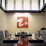 日本料理 「風花」 - 【個室】天井5メートルの落ち着いた雰囲気のある掘り炬燵タイプの個室