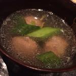 34216178 - 鴨の団子のスープ