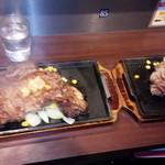 いきなり!ステーキ プレナ幕張店 - リブロース400g*2