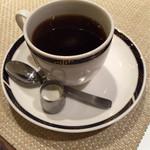 アザミ - セットのコーヒー