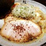 麺屋 利休 - 特製利休醤油らあめん(中)