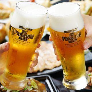 キリッと冷えた生ビール!!