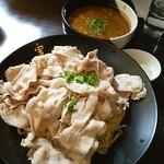 麺酒房 実之和 - カレーつけ麺❤豚盛り、味玉トッピング❤