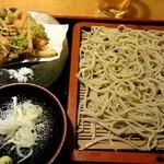 34219946 - 『かき揚げ蕎麦』¥930-(ランチ)
