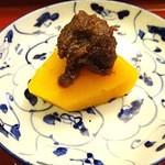 34220353 - かぼちゃの鴨味噌