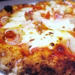 イルバンボリーノ - 小海老とマスカルポーネチーズのピッツァ