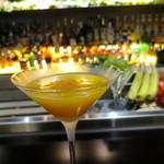 Bar WADURO - 柿のサイドカー(飲むエステカクテル)