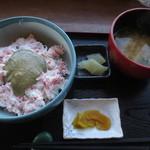 れんが亭 - かに丼 1404円