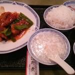 34226122 - 酢豚の定食