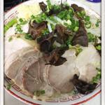 らーめん 辰屋 - デラックス塩ラーメン+豚 800+300円 2015.1