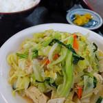 白保食堂 - 豆腐チャンプルー