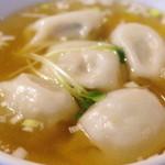 中国茶館 - 水餃子