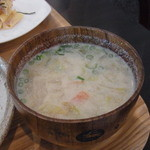 34228575 - 豆乳しょうがみそスープ