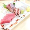 漁協食堂うずしお - 料理写真:刺身盛り合わせ 単品 (1000円) '15 1月上旬
