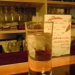 34229210 - お水は大きいグラスで♪カレーには嬉しいです♪