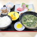 34229590 - おまかせ うずしお御膳 (1850円) '15 1月上旬