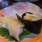 廻る富山湾 すし玉 - しろ貝