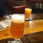 34232241 - オレンジジュース&キリンフリー