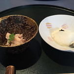 すずめのお宿 - 2015/01 うど酢味噌和え、自家製豆腐onきゃびあ