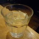 みわ亭 - ☆お水グラスは可愛いサイズ☆