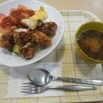 桔梗屋 - 中津川名物  とりトマ丼