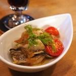 クラフトビアバル IBREW - 牡蠣のマリネ ゆず風味