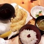 34235984 - 穴子の天ぷら定食ランチ