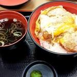 名代 富士そば - カツ丼480円