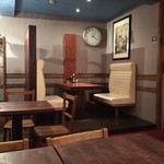 カフェ マメヒコ - こんな席もあります
