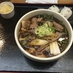 34238196 - 鴨きのこ山菜そば