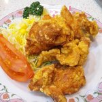 餃子の王将 - 鶏の唐揚(\500)