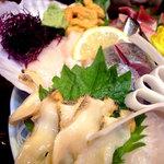 肴 - 刺身貝類