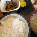 味処 浜益 - 料理写真:お刺身定食780円です♬