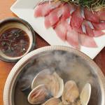 経堂カンザワ - 絶品!蛤と昆布出汁のお魚しゃぶしゃぶ