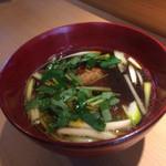Kamakuramiyoshi - つくね鴨汁