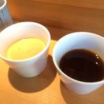 Kamakuramiyoshi - 胡麻だれと醤油だれ