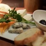 キリンシティ - チーズ盛り合わせ3種