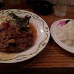 ココット - 12/06/13 グリルドチキン ベーコン添え800円