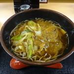 そば処吉野家 - 料理写真:カレー南蛮そば