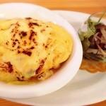 カフェティント - 焼きチーズのオムレツパングラタン(オーダーメイドオムライス)