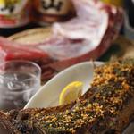 完全個室・夜景一望・美食×肉プレート 七色 - ◆朝〆漁港直送◆ マグロの大カマ肉のグリル