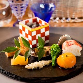 有名店で研鑽を積んだ職人の日本料理をリーズナブルにご提供