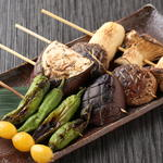完全個室・夜景一望・美食×肉プレート 七色 - 炭焼【野菜】 ~各種 ご紹介~(たれ・塩)