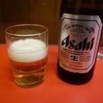 自由軒 - 「ビール(500円)」