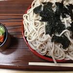 青葉 直利庵 - ざる蕎麦