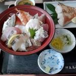 34252961 - おかりば丼+金目鯛