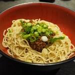 坐・和民 - 汁なし担〃麺(?)