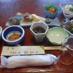 鯛納屋 - おまかせ定食(着席時)(2015.1)